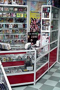 Обзавеждане за музикални магазини