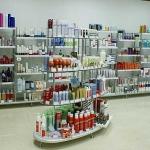 Изработка на търговски щанд за магазин за козметика