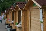 изработка на дървен търговски павилион до 4 кв.м