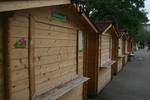 дървени павилиони до 4 кв.м за продажба