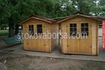 дървена сглобяема къща 4кв.м