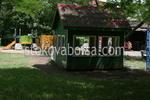 Дървена детски къщичка