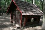 Модел на детска къщичка от дърво