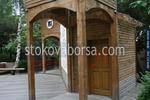 Дървени детски къщички по поръчка