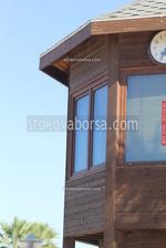 Изпълнение на индивидуални проекти за детски къщички от дърво