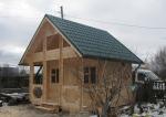 сглобяема дървена къща 207-3288