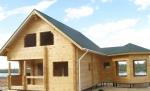 дървена сглобяема къща 211-3288