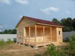 дървена къща по поръчка 214-3288