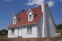 Изпълнена сглобяема къща