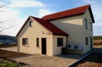 Сглобяема къща в завършен вид