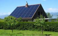 Сомозахранваща се сглобяема къща