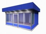Изработка от метал на търговски павилиони по поръчка