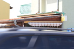 дървени навеси за магазини в битов стил