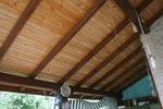 монтаж на дървен навес по поръчка
