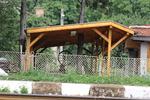 изработка и монтаж на големи дървени навеси