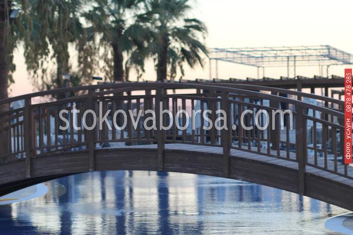 изработка на дървени мостове