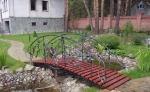 мостове от ковано желязо за градина 306-3253