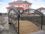 декоративен мост от ковано желязо 309-3253