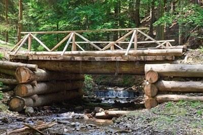 мост от дърво 444-3253