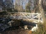 дървени градински мостове