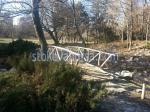 Изработване на мостове от дърво за градината по поръчка