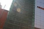 скриващи мрежи за строително скеле