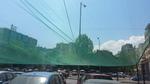 Мрежи против слънце за паркинг