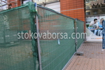 оградни метални мрежи за ограждане на строителни обекти
