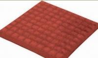 Тротоарни плочки от бетон червени