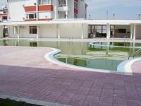 Настилка около басейн мрамор от бетон