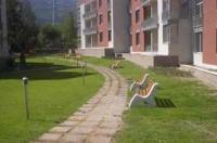 Пейки с бетон и дърво за парк