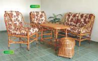 Стол от ракита с дамаска РАЛИЦА