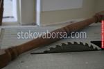 поръчков дървен парапет за стълби
