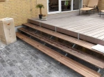 дървено стълбище по поръчка