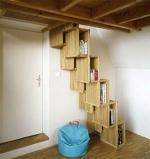 дървено стълбища