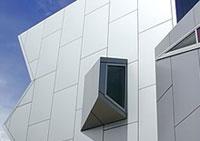 Окачени алуминиеви фасади по поръчка