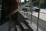 изработка на алуминиеви парапети с правоъгълен профил