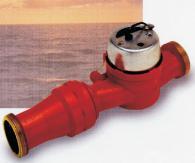Едноструен водомер за гореща вода