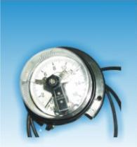 Електроконтактен манометър с диаметър 100мм