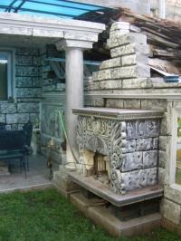 Изработка на каменни камини