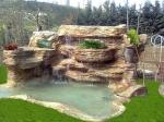 водопади от камъни
