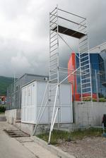 строително мобилно скеле