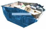 Контейнер за отпадъци от метал за промишлеността