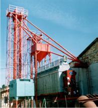 Елеватори за зърно и насипни материали