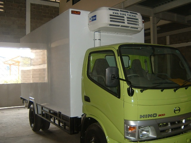 Хладилни и климатични инсталации за шаси надстройки за ванове