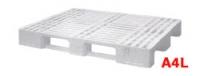 Индустриални пластмасови палети 800x1000