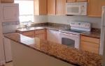 Кухненски плот - готово изделие, изработено от мрамор