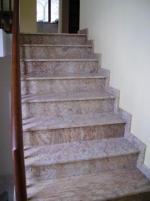 Проекти за стъпала, облицовани с мрамор