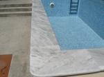 Мраморни облицовки за басейни - производство и полагане