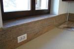 Готов вътрешен подпрозоречен перваз мраморен